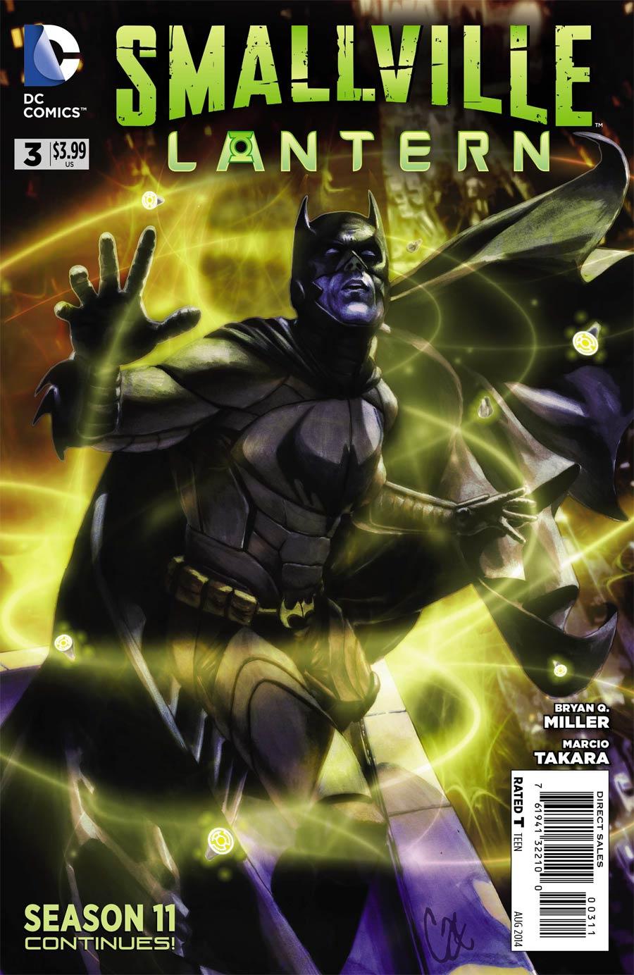 Smallville Season 11 Lantern #3