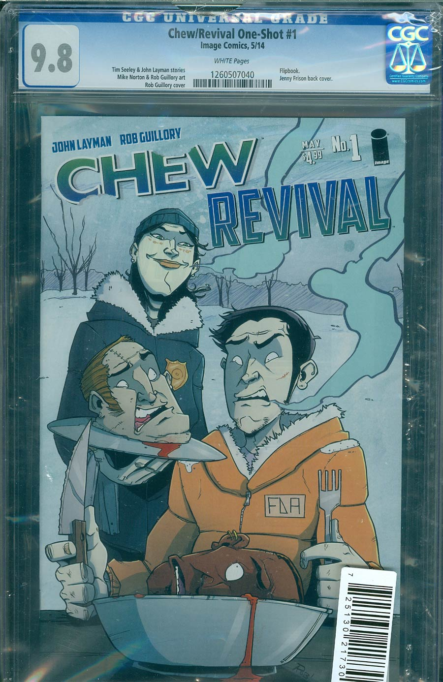 Chew / Revival #1 Cover C DF CGC 9.8