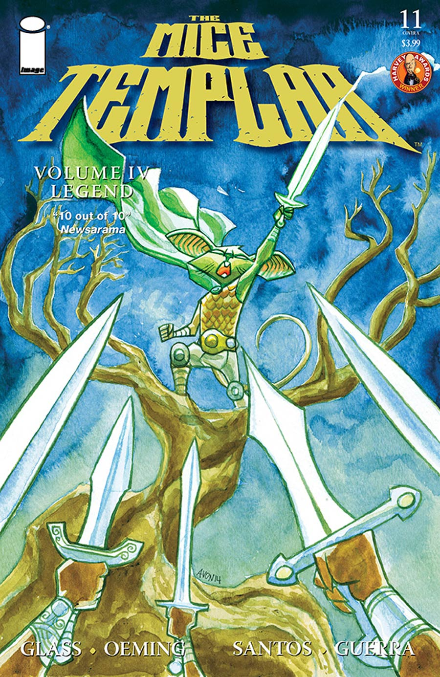 Mice Templar Vol 4 Legend #11 Cover A Michael Avon Oeming