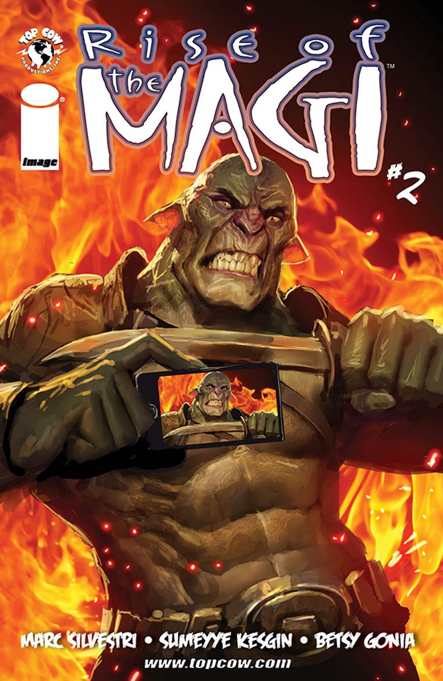 Rise Of The Magi #2 Cover A Sumeyye Kesgin