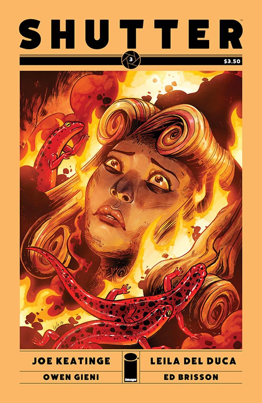Shutter #3 Cover A 1st Ptg
