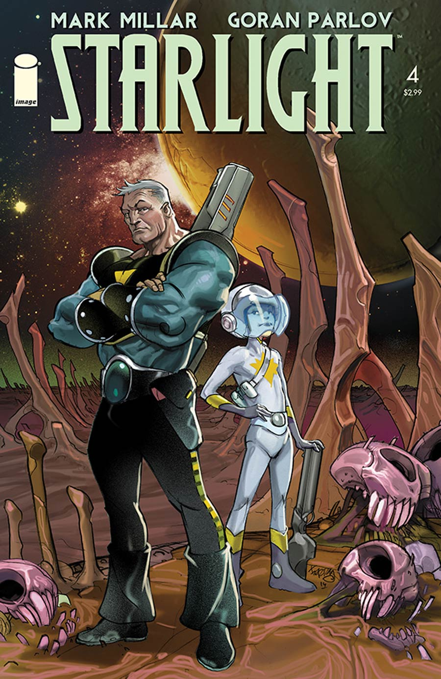Starlight #4 Cover B Pasqual Ferry