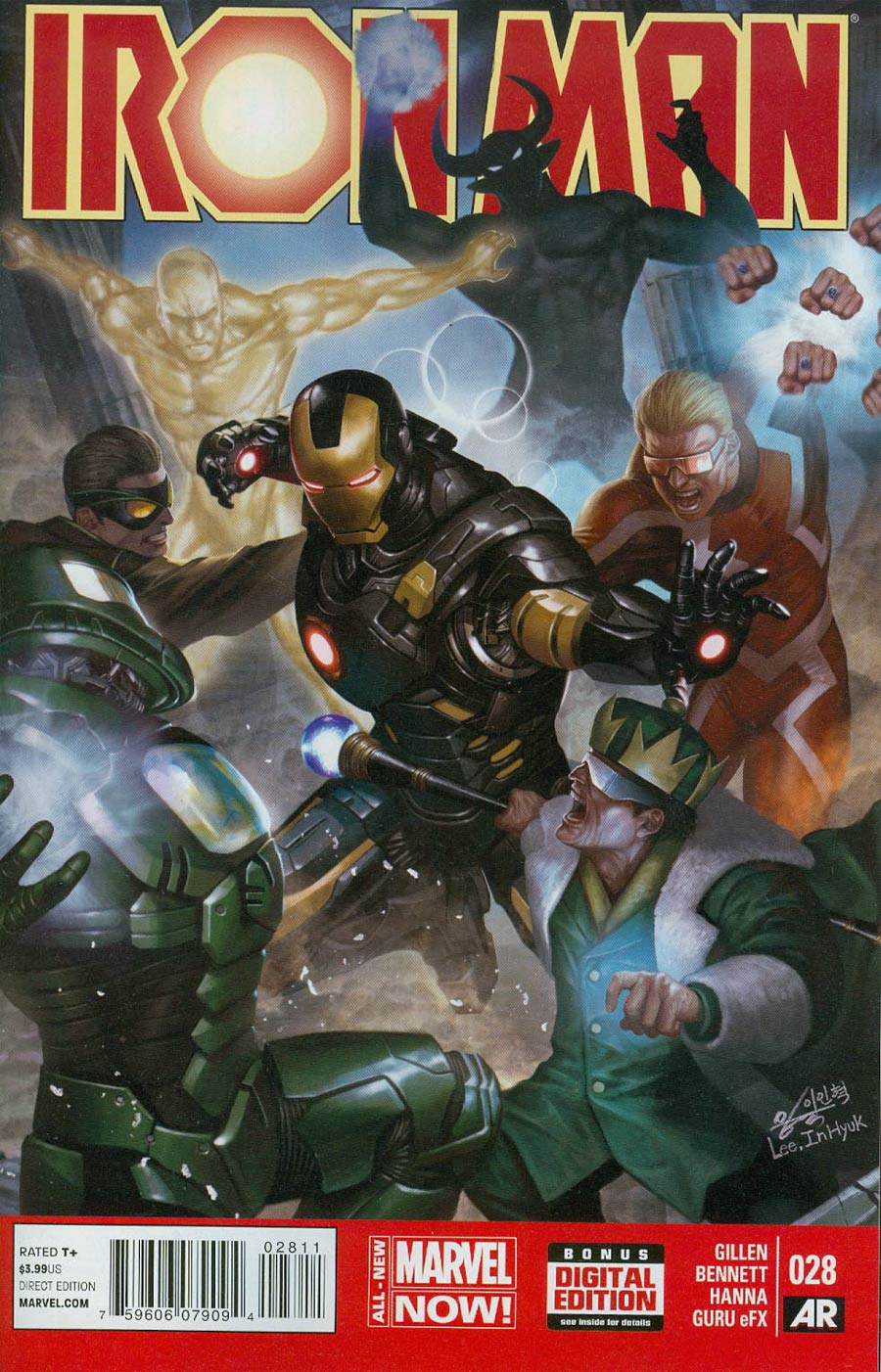 Iron Man Vol 5 #28