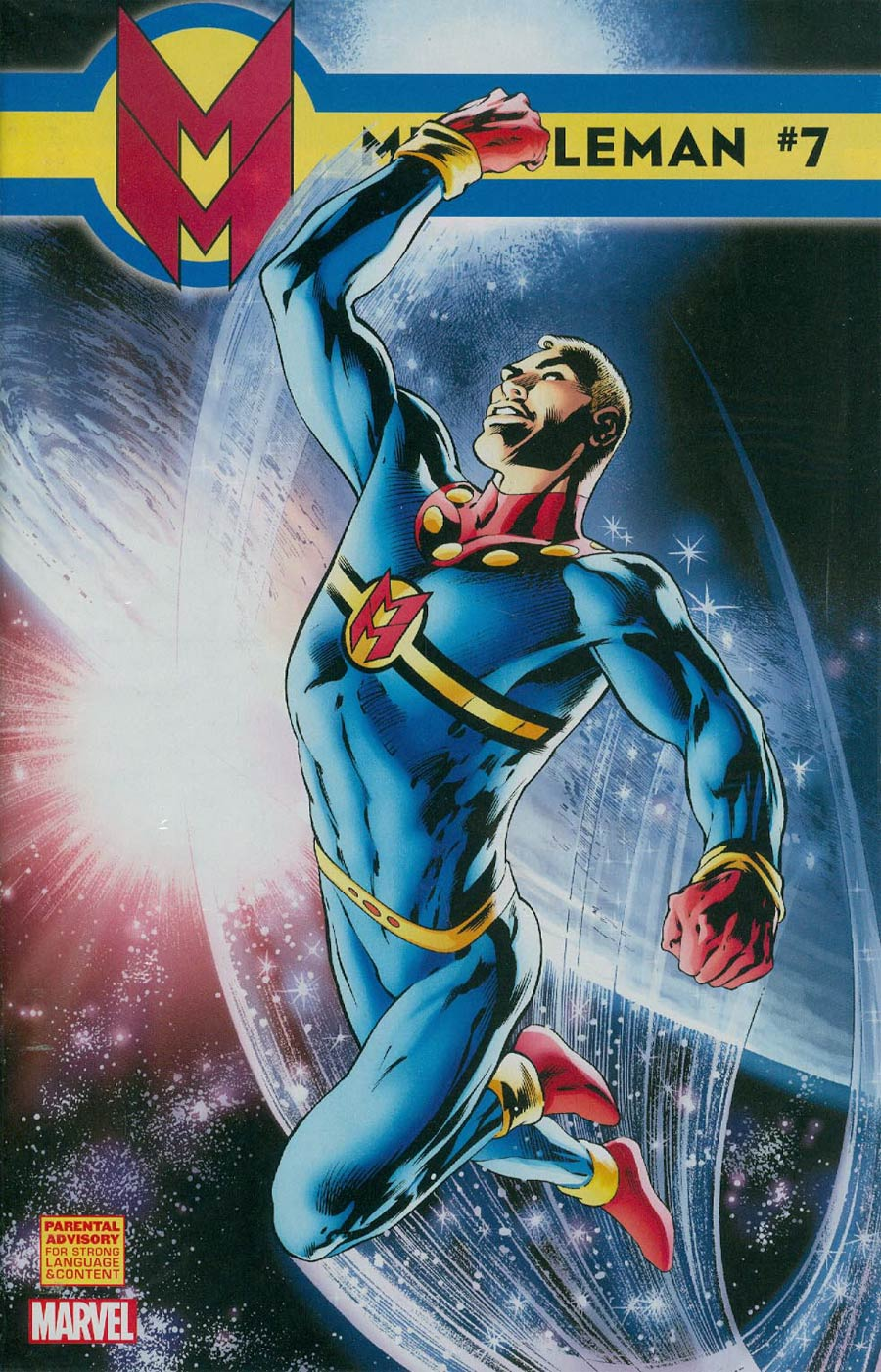 Miracleman (Marvel) #7 Cover A Regular Alan Davis Cover With Polybag