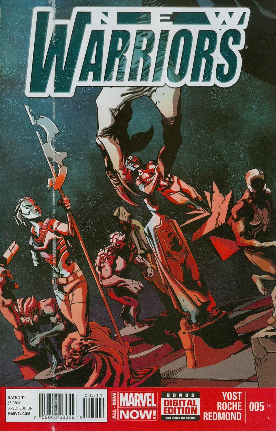 New Warriors Vol 5 #5