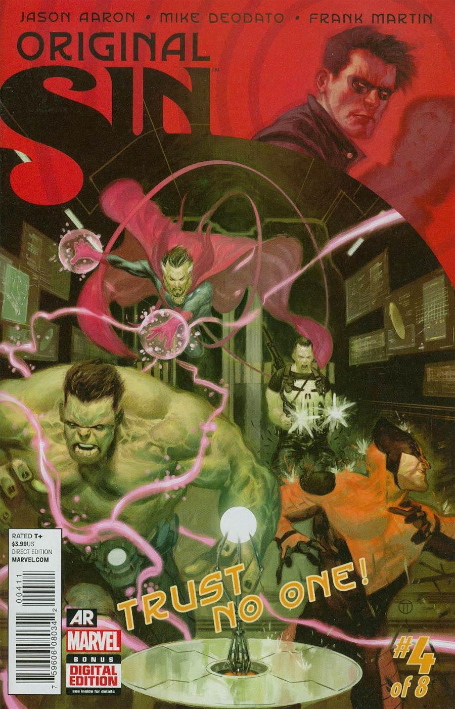 Original Sin #4 Cover A Regular Julian Totino Tedesco Cover
