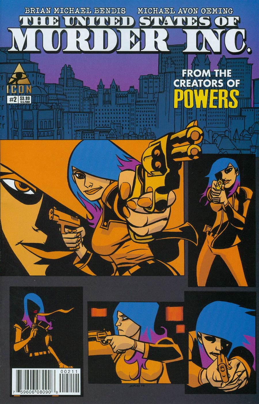 United States Of Murder Inc #2 Cover A Regular Michael Avon Oeming Cover