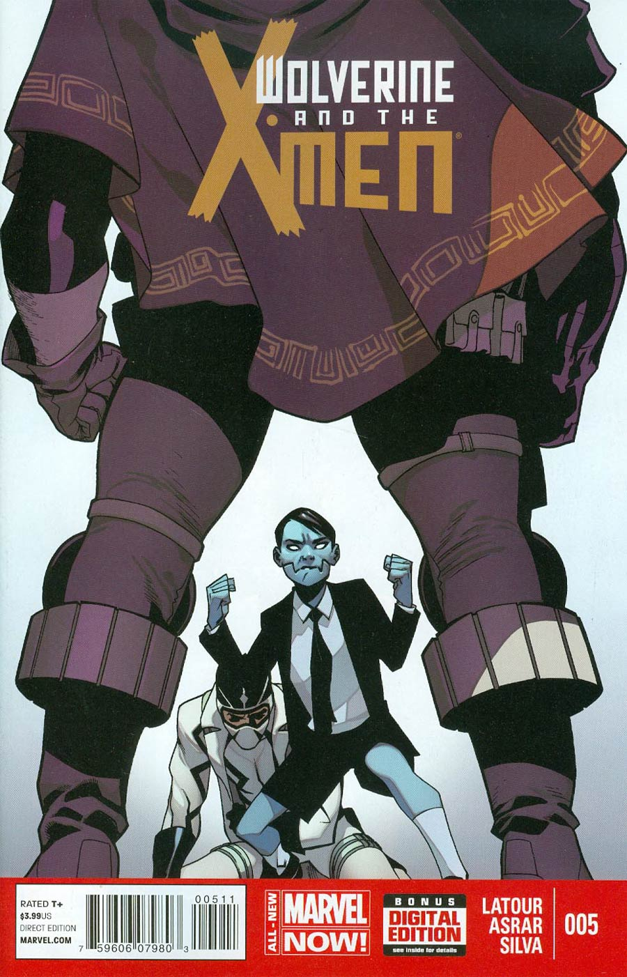 Wolverine And The X-Men Vol 2 #5