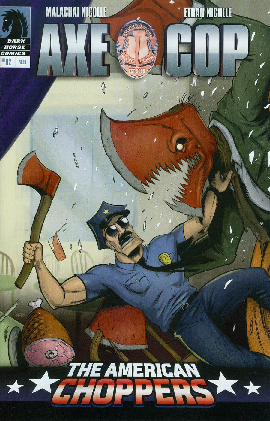 Axe Cop American Choppers #2