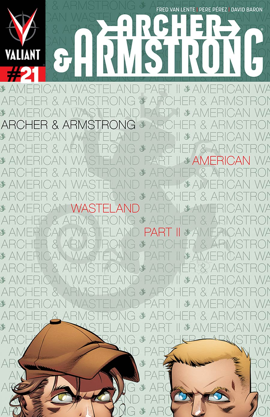 Archer & Armstrong Vol 2 #21 Cover A Regular Shawn Crystal Cover