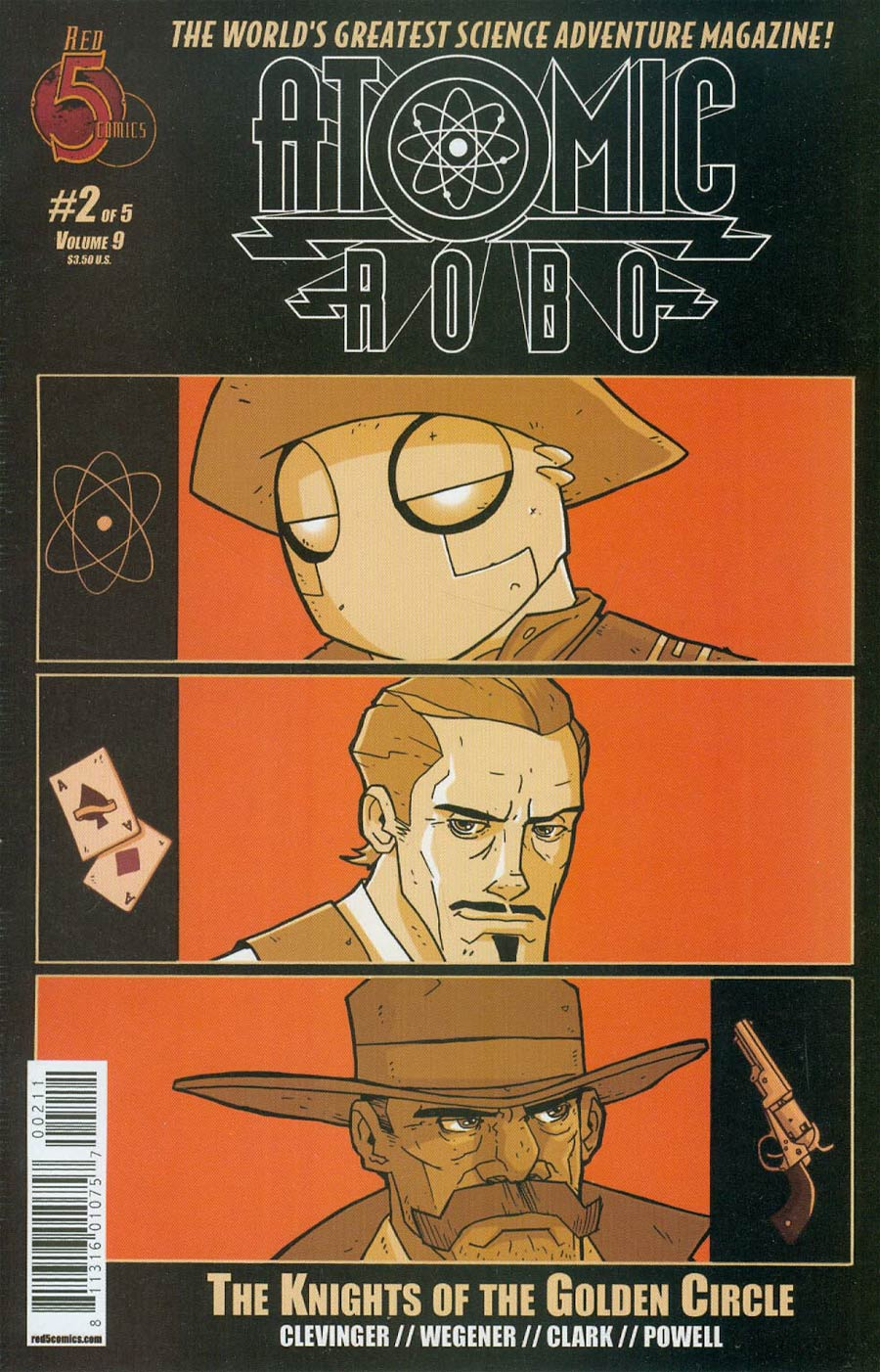 Atomic Robo And The Knights Of The Golden Circle #2