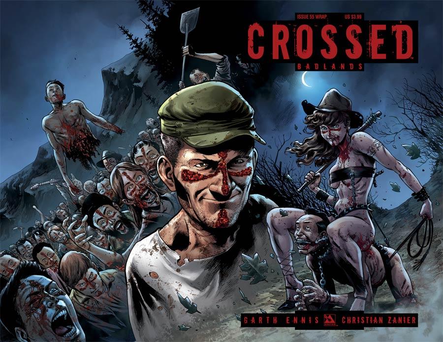 Crossed Badlands #55 Cover B Wraparound Cover