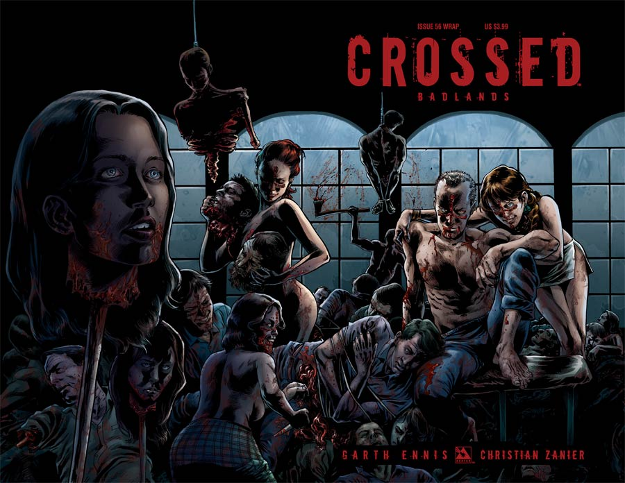 Crossed Badlands #56 Cover B Wraparound Cover