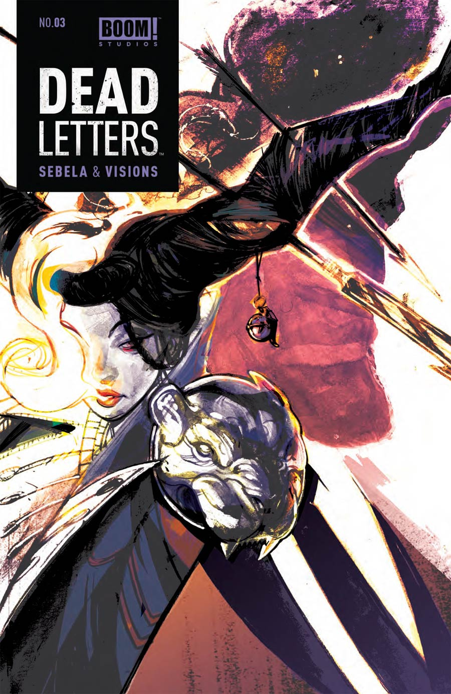 Dead Letters #3 Cover A Regular Chris Visions Cover