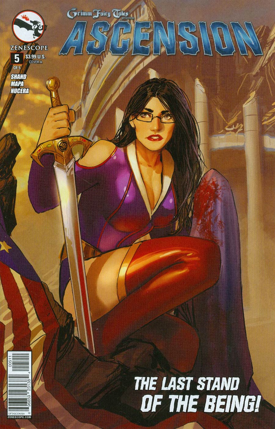 Grimm Fairy Tales Presents Ascension #5 Cover A Stjepan Sejic