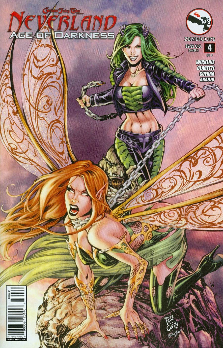 Grimm Fairy Tales Presents Neverland Age Of Darkness #4 Cover C Keu Cha