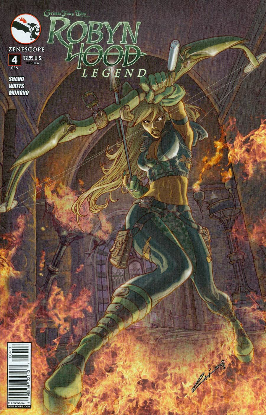 Grimm Fairy Tales Presents Robyn Hood Legend #4 Cover A Emilio Laiso