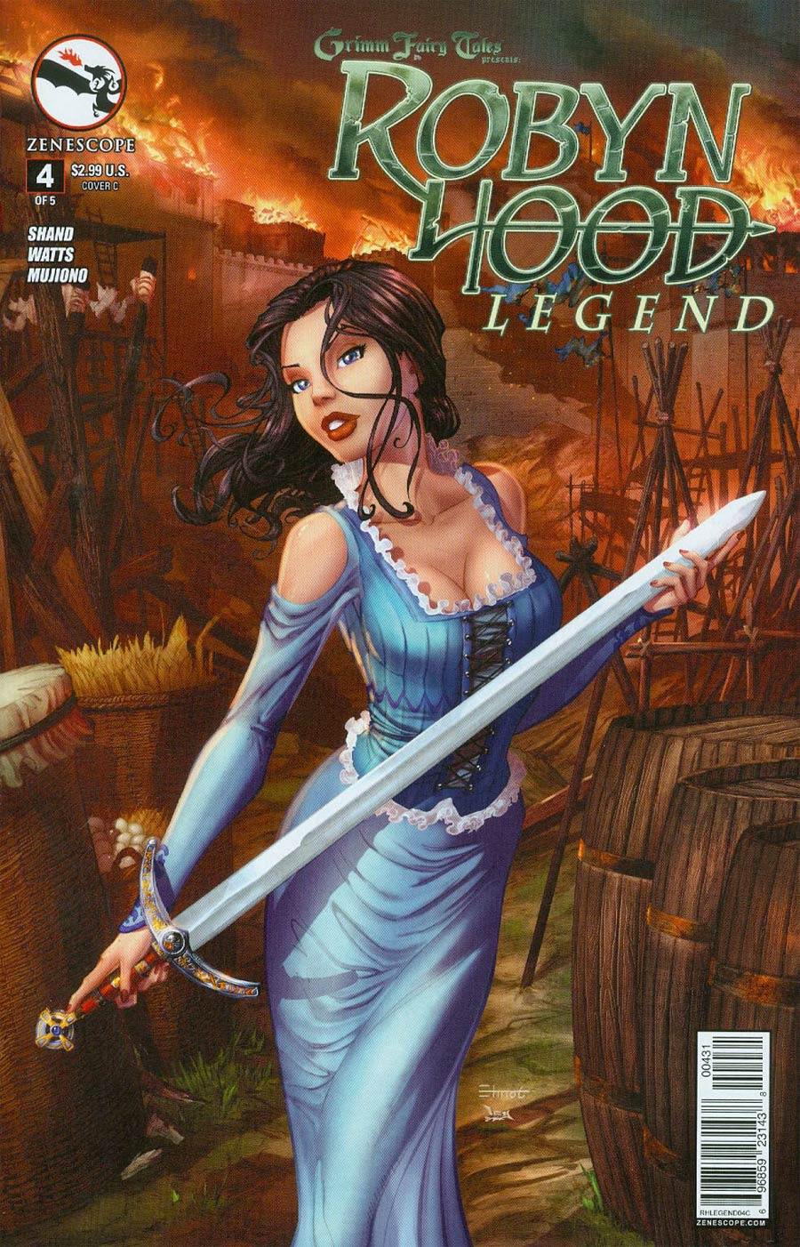 Grimm Fairy Tales Presents Robyn Hood Legend #4 Cover C Chris Ehnot