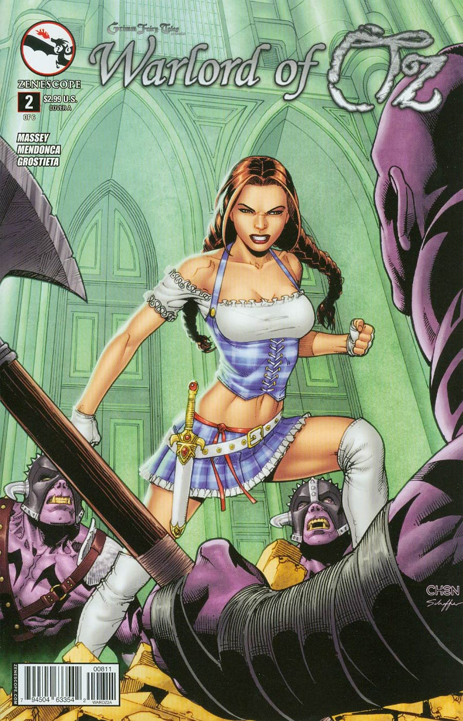 Grimm Fairy Tales Presents Warlord Of Oz #2 Cover A Sean Chen