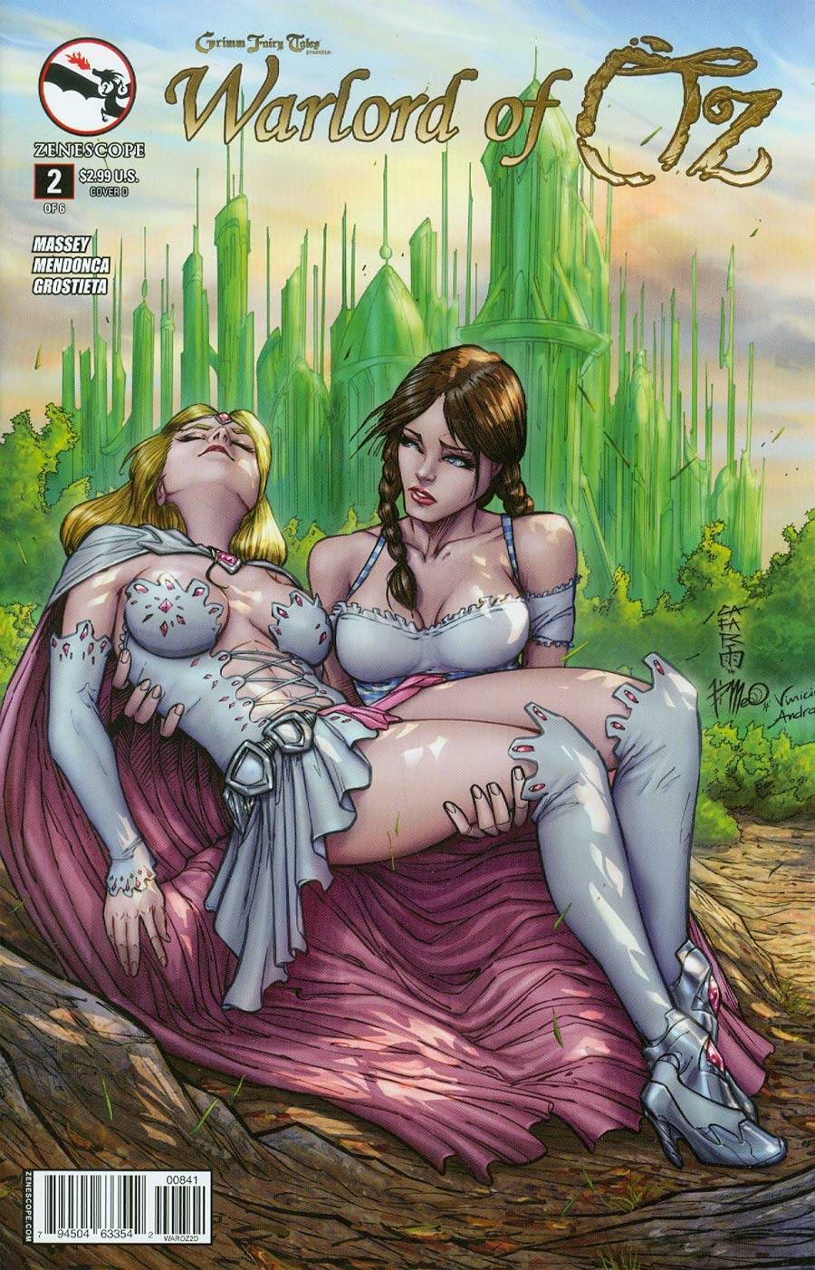 Grimm Fairy Tales Presents Warlord Of Oz #2 Cover D Giuseppe Cafaro