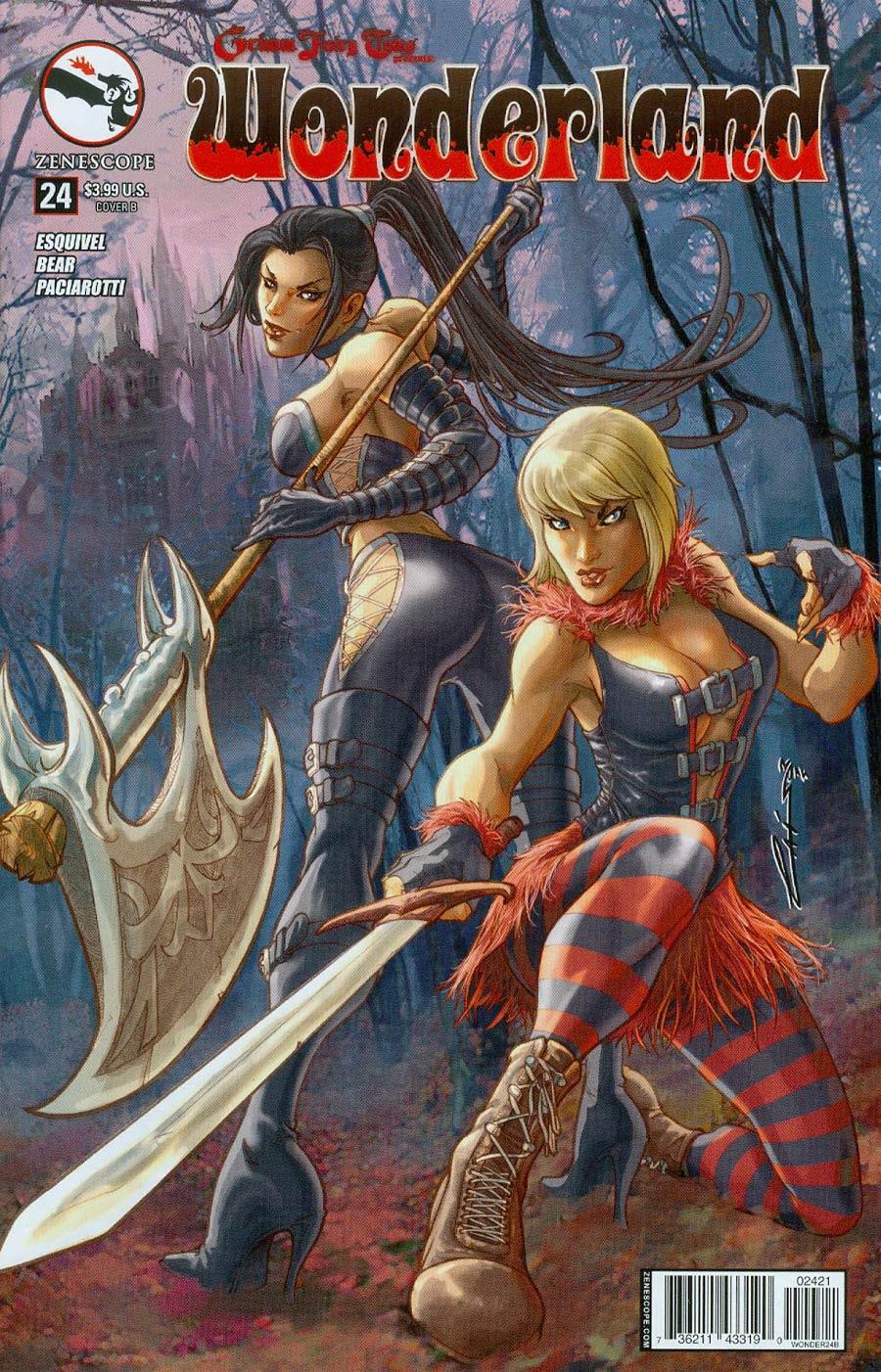 Grimm Fairy Tales Presents Wonderland Vol 2 #24 Cover B Emilio Laiso