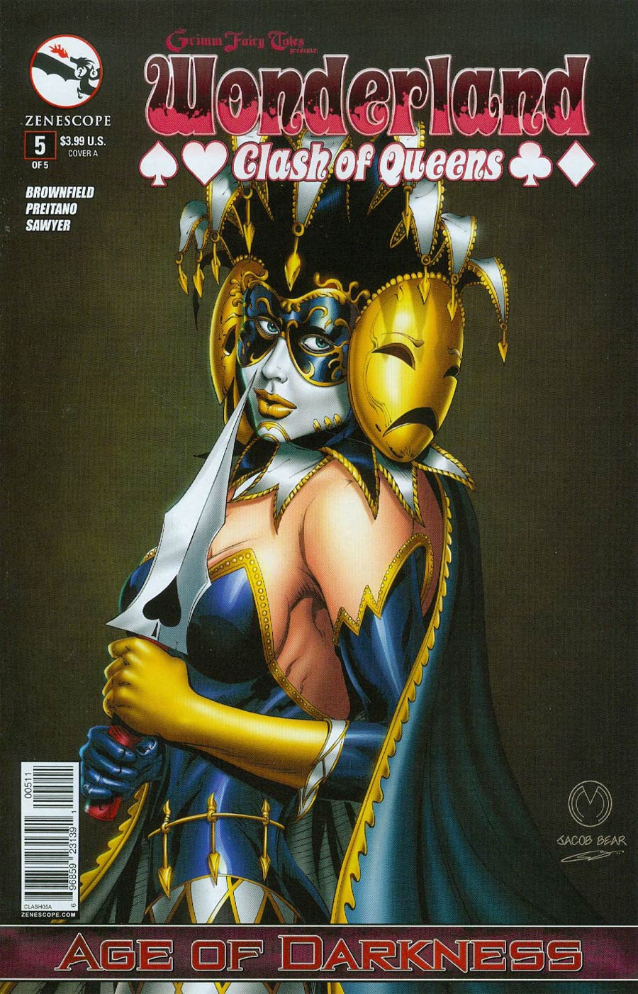 Grimm Fairy Tales Presents Wonderland Clash Of Queens #5 Cover A Marat Mychaels (Aof