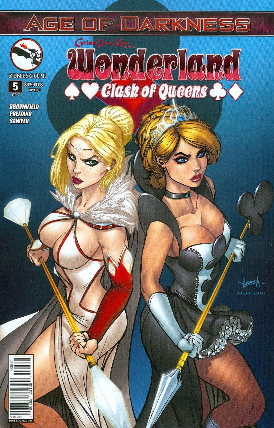 Grimm Fairy Tales Presents Wonderland Clash Of Queens #5 Cover C Ale Garza (Age Of Darkness Tie-In)