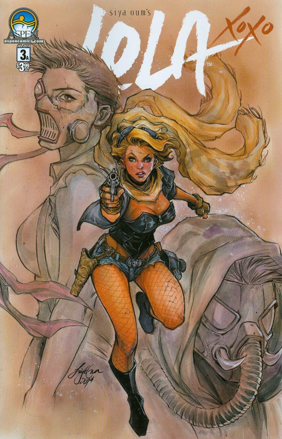 Lola Xoxo #3 Cover A Regular Siya Oum Cover