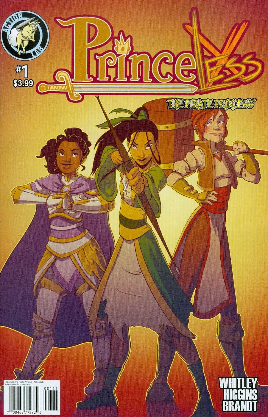 Princeless Pirate Princess #1 Cover A Regular Rosy Higgins Cover