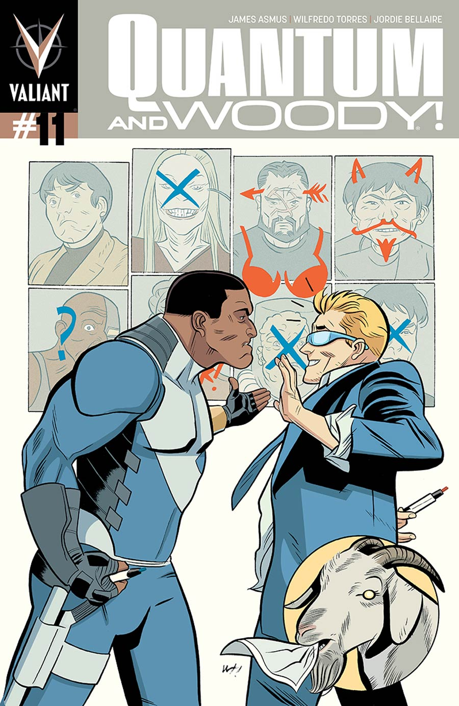 Quantum & Woody Vol 3 #11 Cover B Variant Wilfredo Torres Cover
