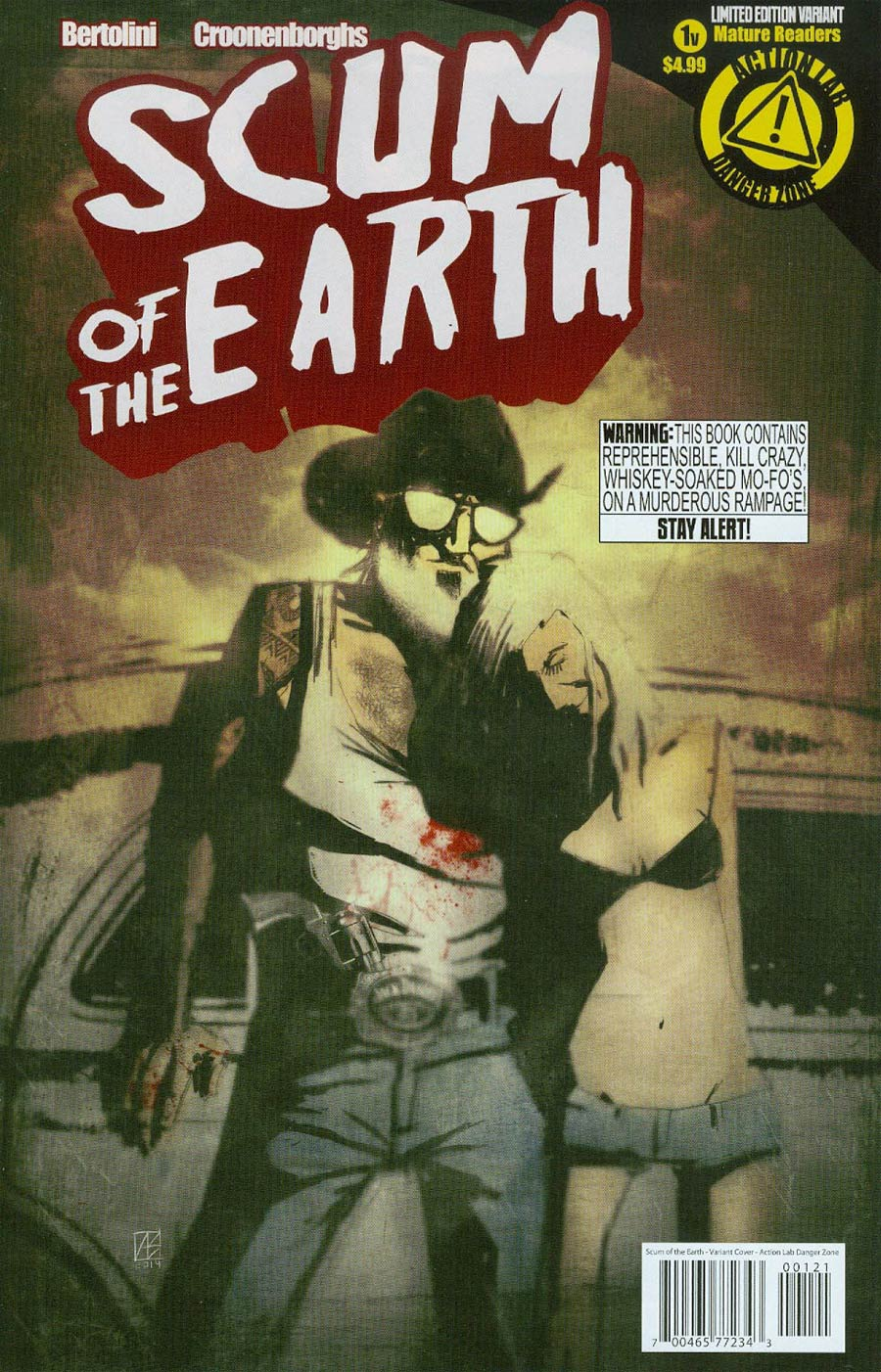 Scum Of The Earth #1 Cover B Variant Allen Byrnes Cover