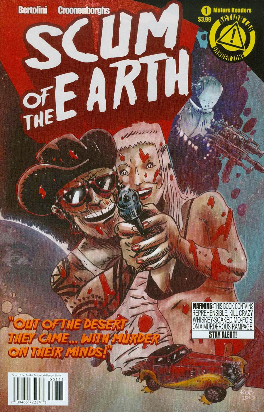 Scum Of The Earth #1 Cover A Regular Rob Croonenborghs Cover