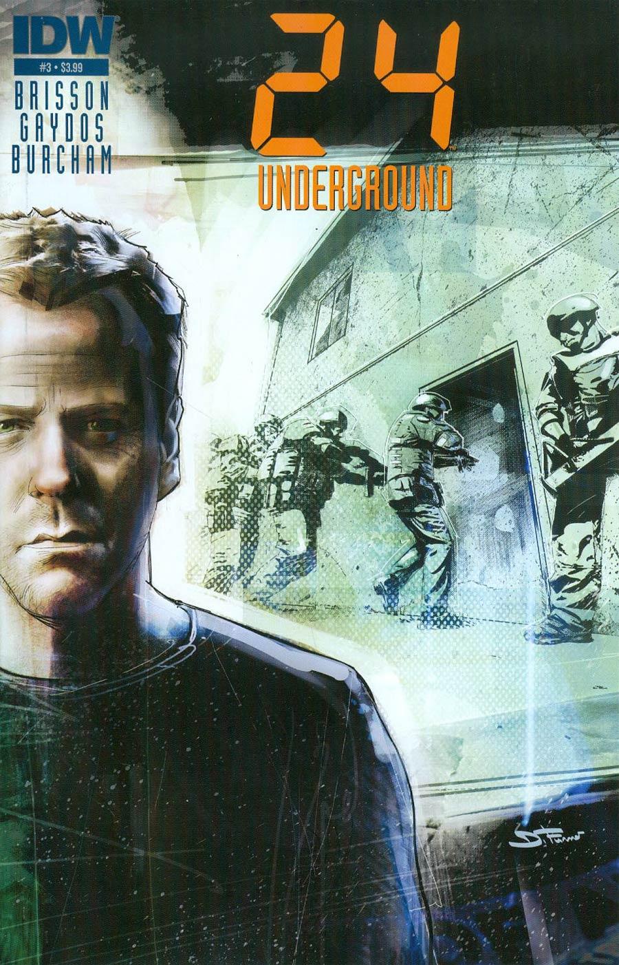 24 Underground #3 Cover A Regular Davide Furno Cover