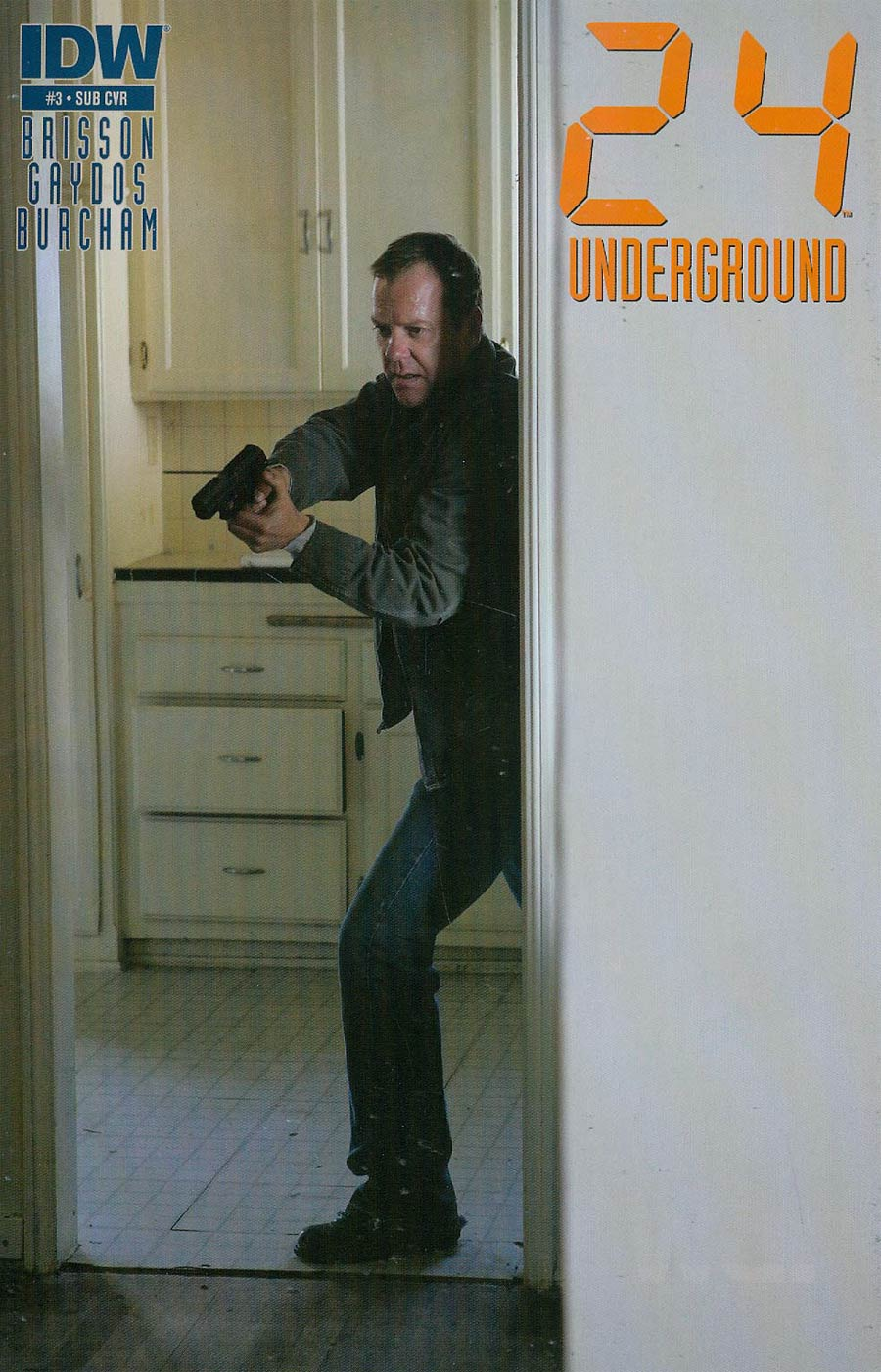 24 Underground #3 Cover B Variant Photo Subscription Cover