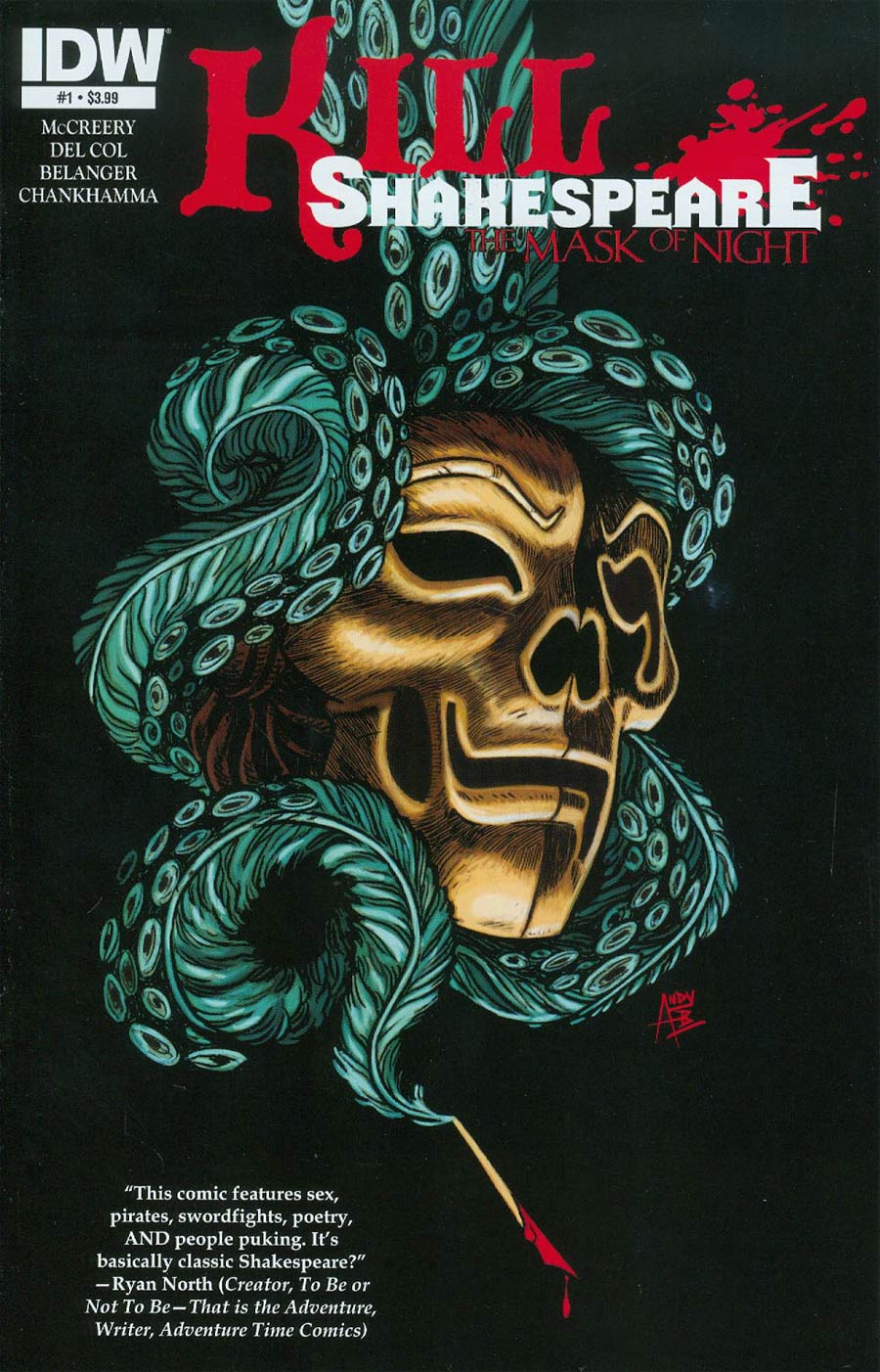 Kill Shakespeare Mask Of Night #1 Cover A Regular Andy Belanger Cover