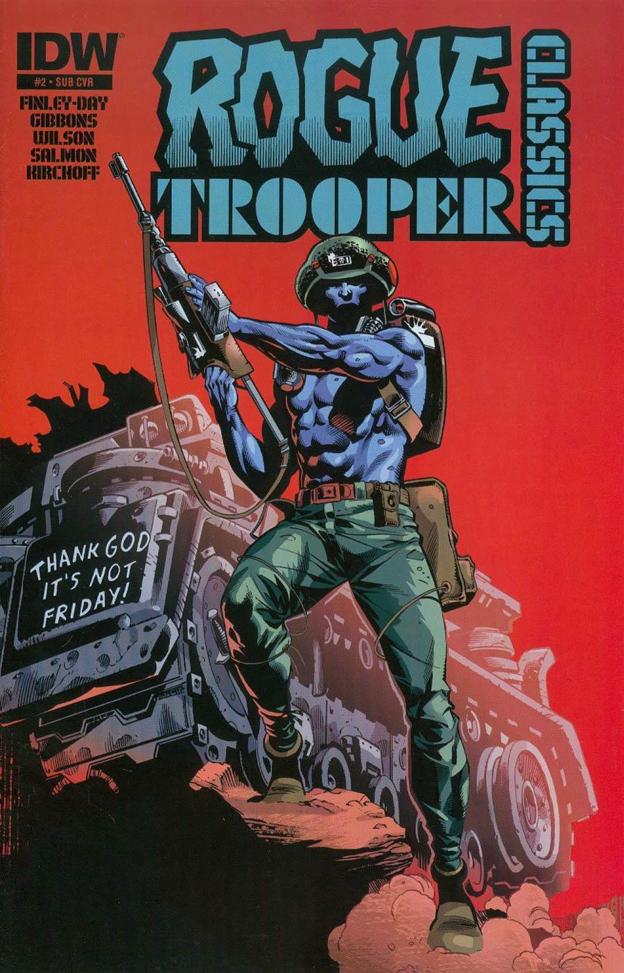 Rogue Trooper Classics #2 Cover B Variant Staz Johnson Subscription Cover