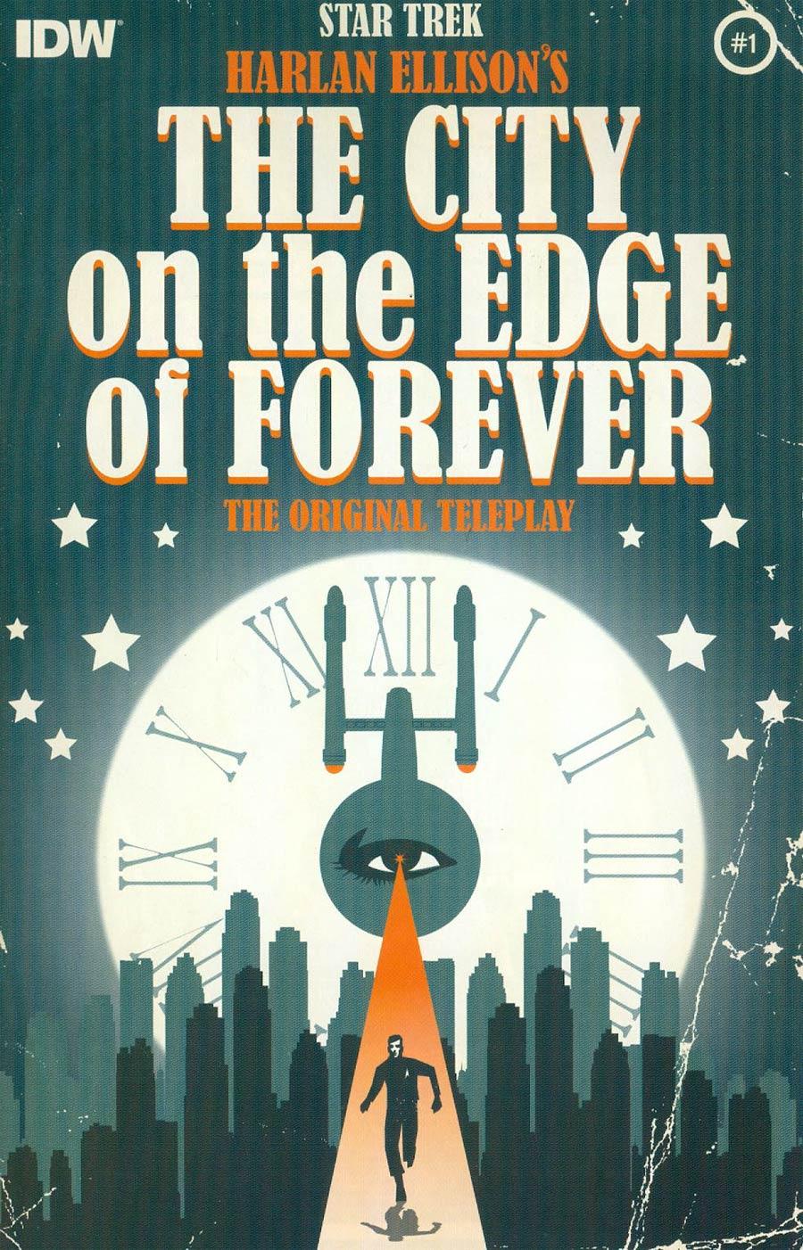 Star Trek Harlan Ellisons City On The Edge Of Forever Original Teleplay #1 Cover A 1st Ptg Regular Juan Ortiz Cover