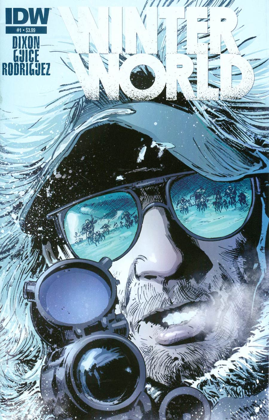 Winterworld Vol 2 #1 Cover A 1st Ptg Regular Butch Guice Cover