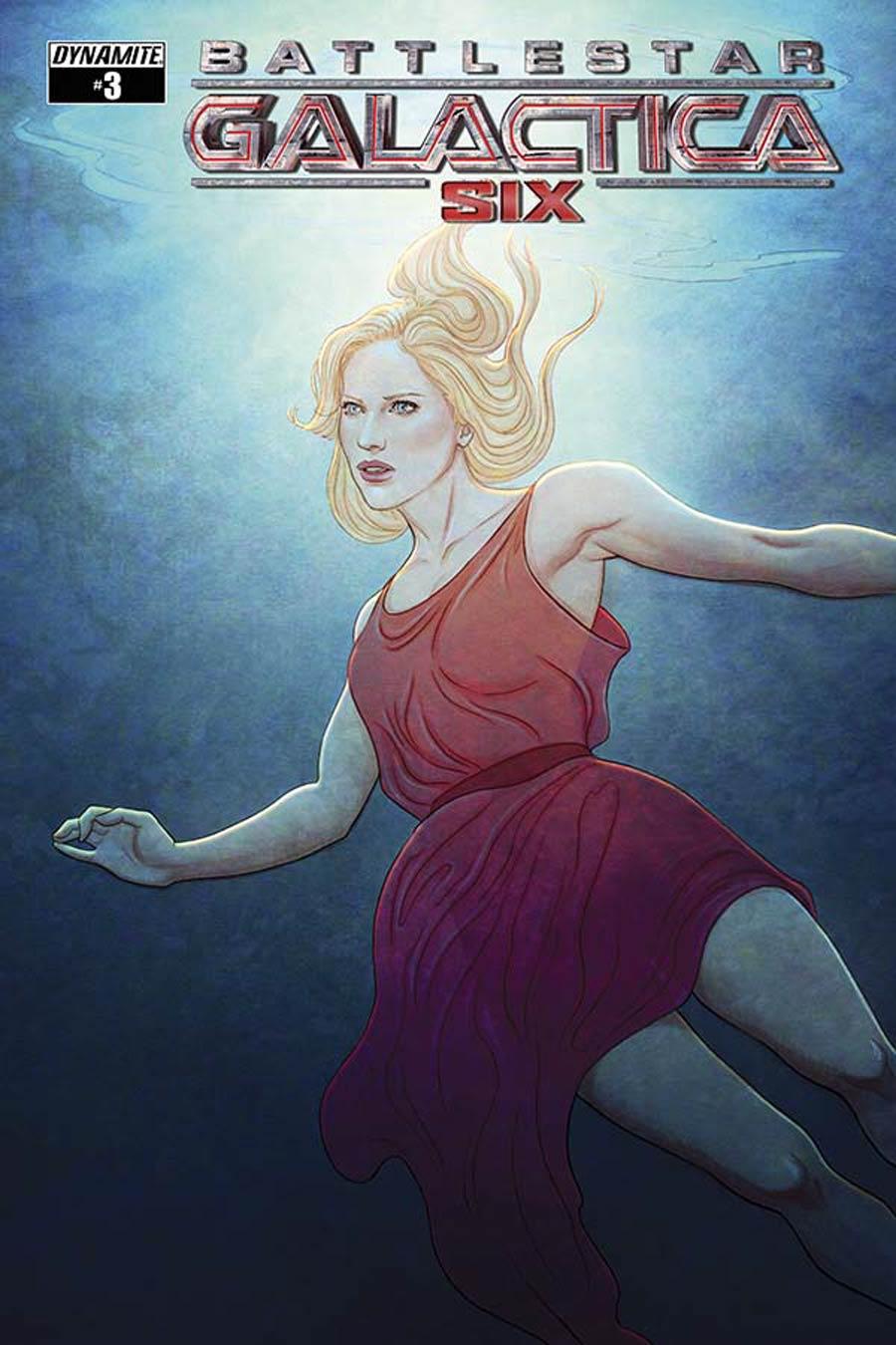 Battlestar Galactica Six #3 Cover A Regular Jenny Frison Cover