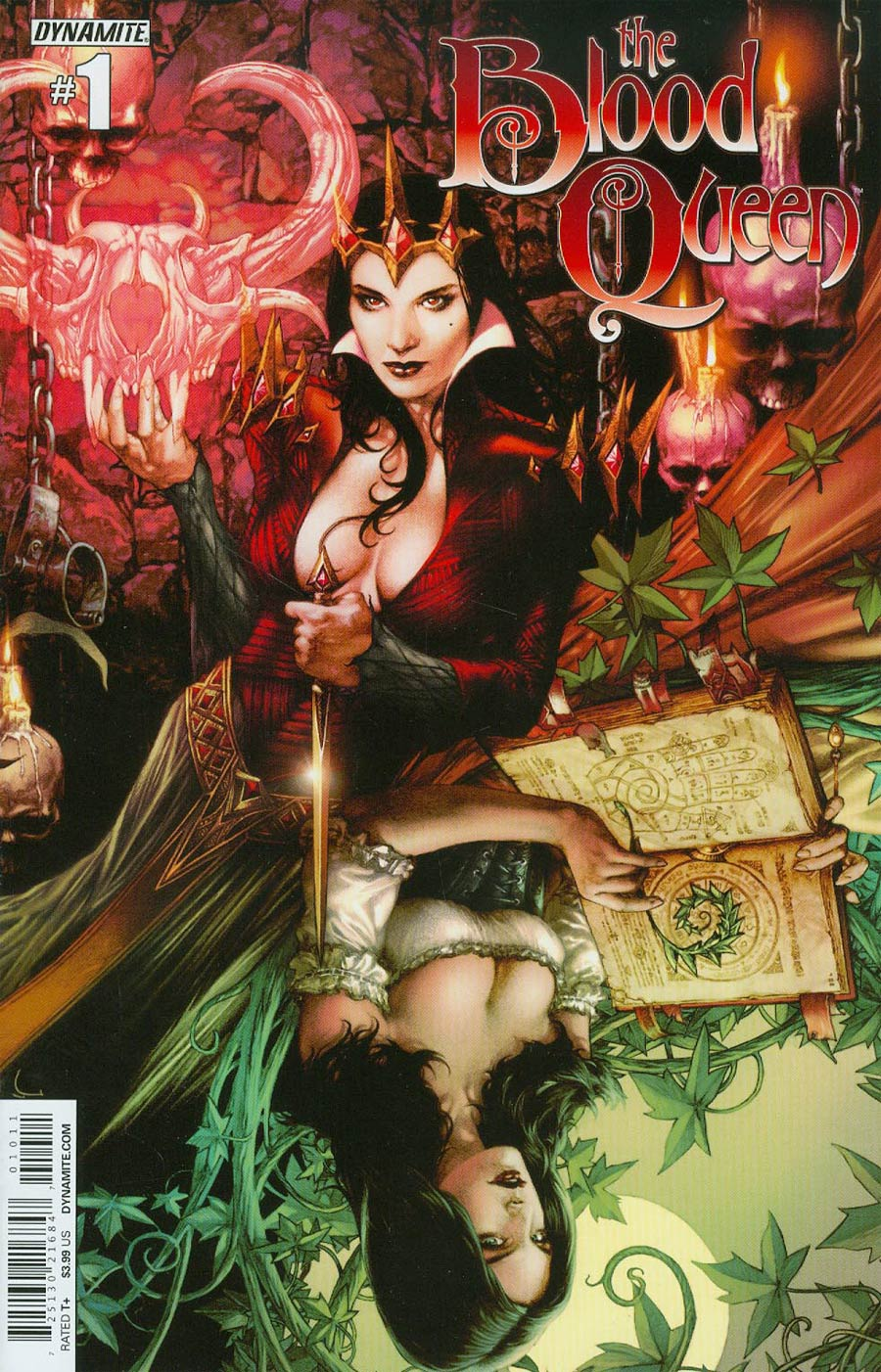 Blood Queen #1 Cover A Regular Jay Anacleto Cover