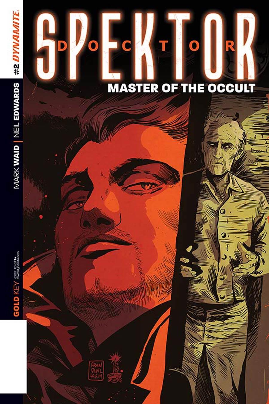 Doctor Spektor Master Of The Occult #2 Cover B Variant Francesco Francavilla Subscription Cover