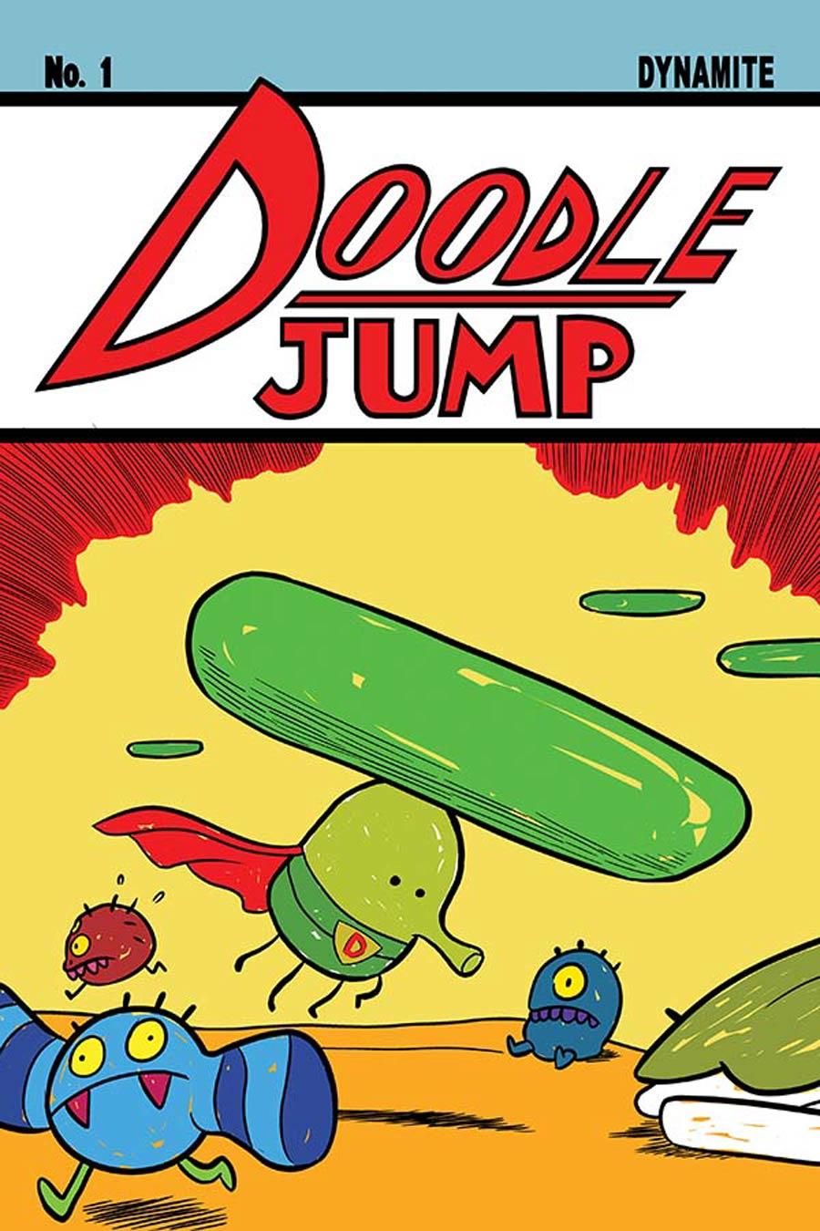 Doodle Jump #1 Cover A Regular Meredith Gran Cover
