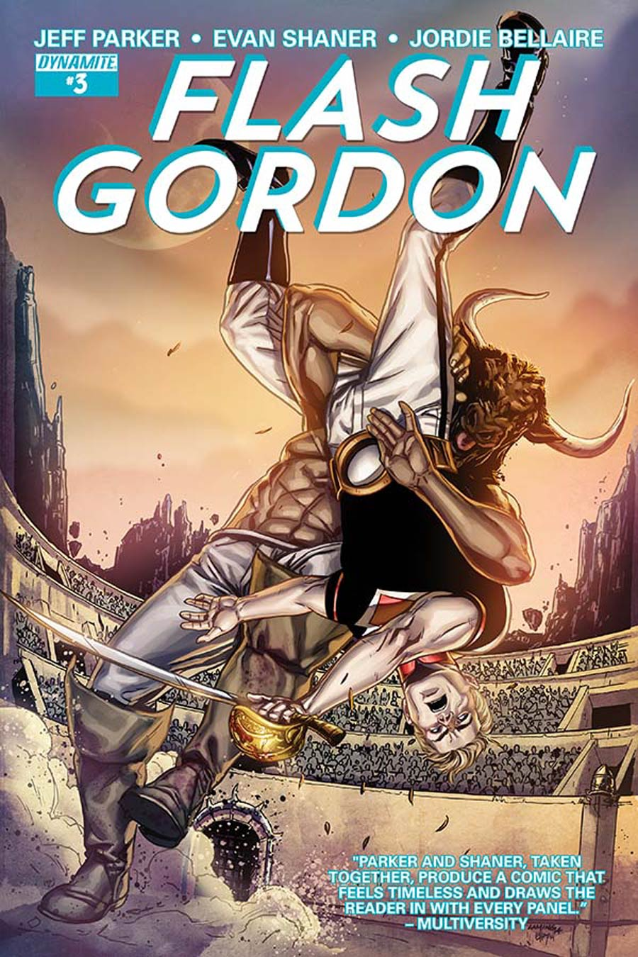 Flash Gordon Vol 7 #3 Cover A Regular Marc Laming Cover