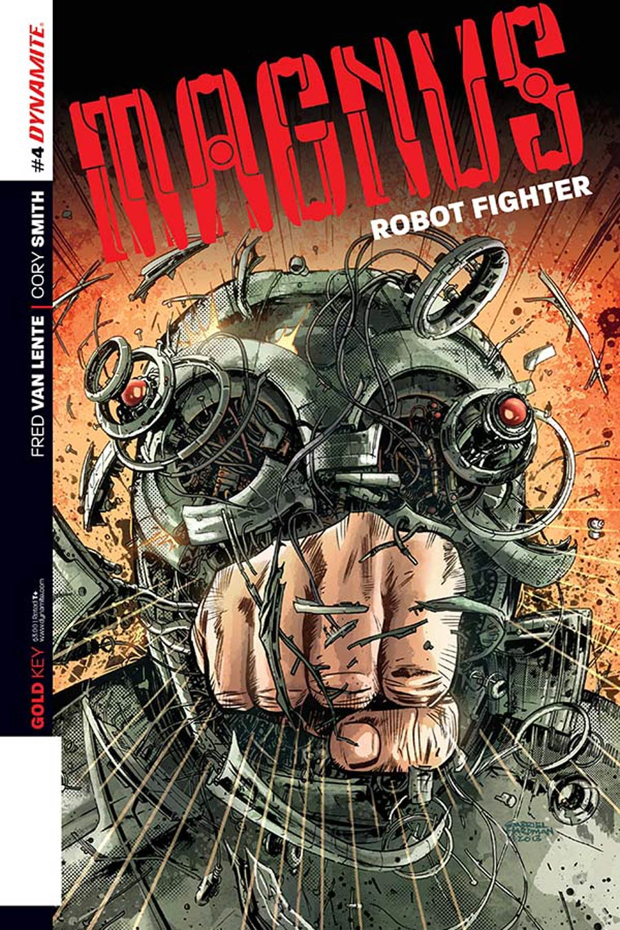 Magnus Robot Fighter Vol 4 #4 Cover A Regular Gabriel Hardman