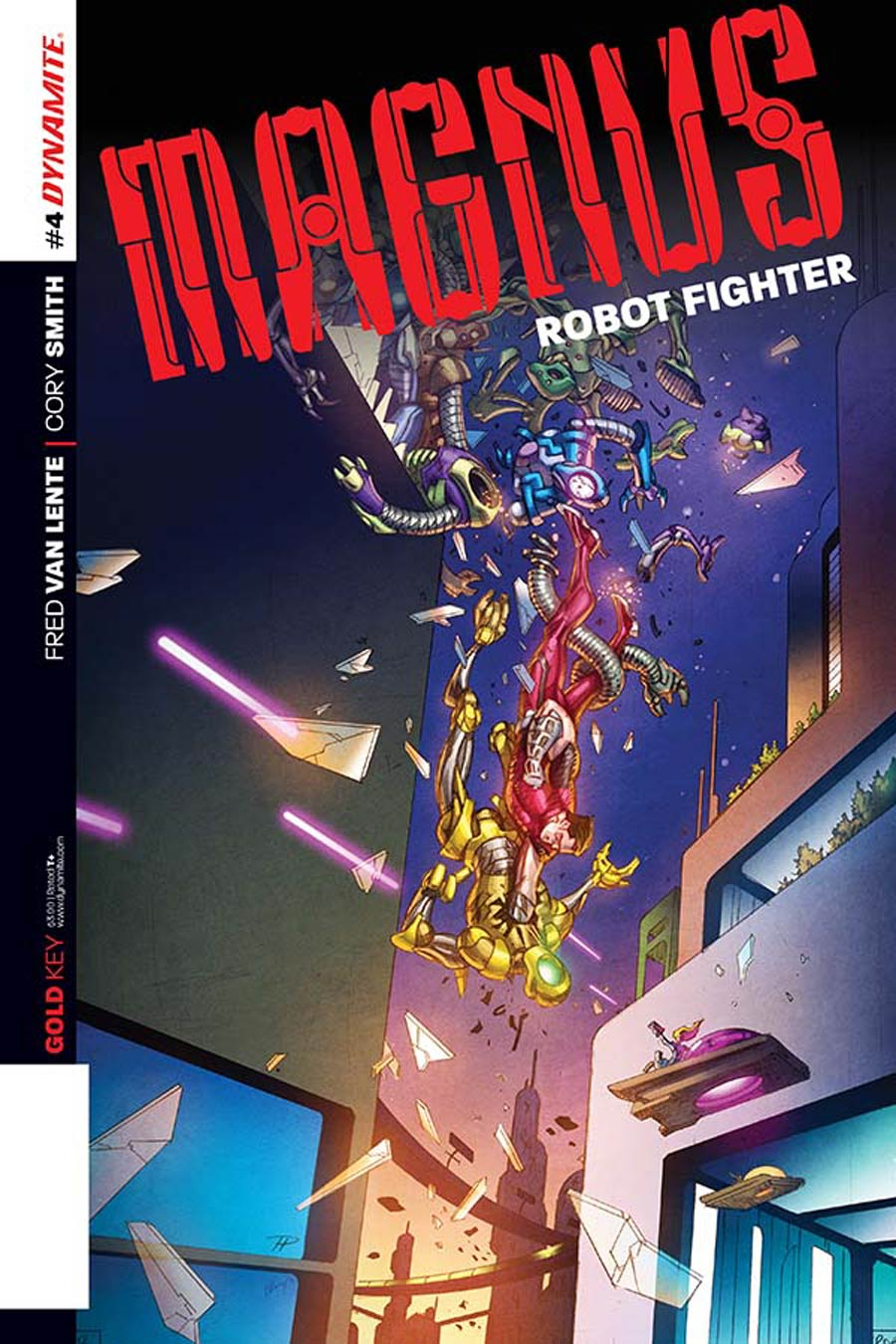 Magnus Robot Fighter Vol 4 #4 Cover B Variant Phil Hester Subscription Cover