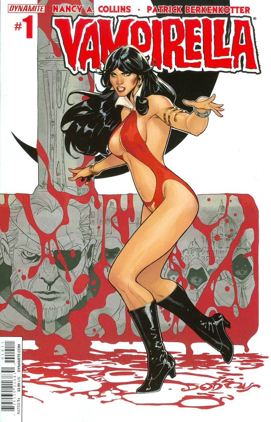 Vampirella Vol 5 #1 Cover A 1st Ptg Regular Terry Dodson Cover
