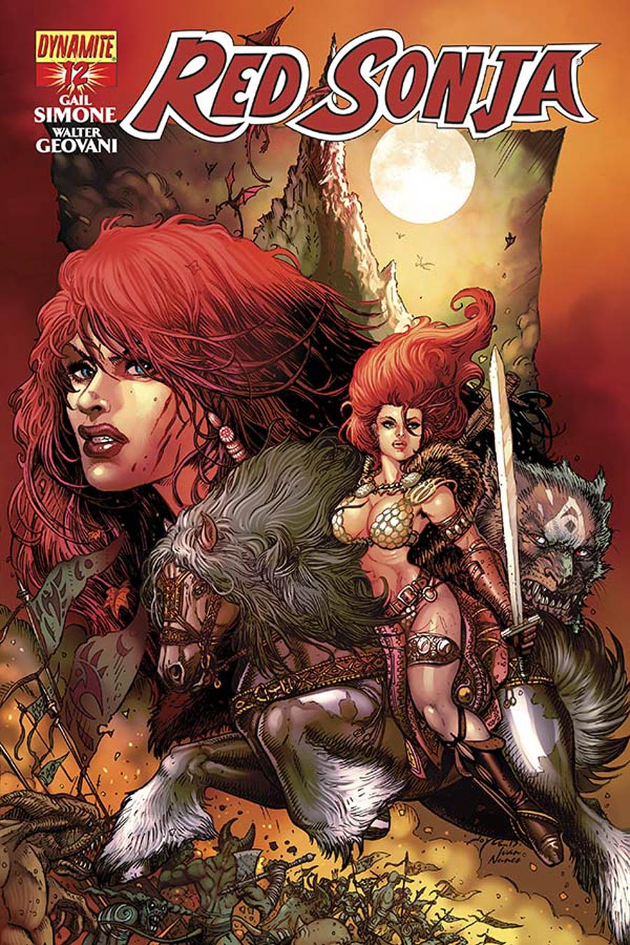 Red Sonja Vol 5 #12 Cover B Variant Joyce Chin Cover