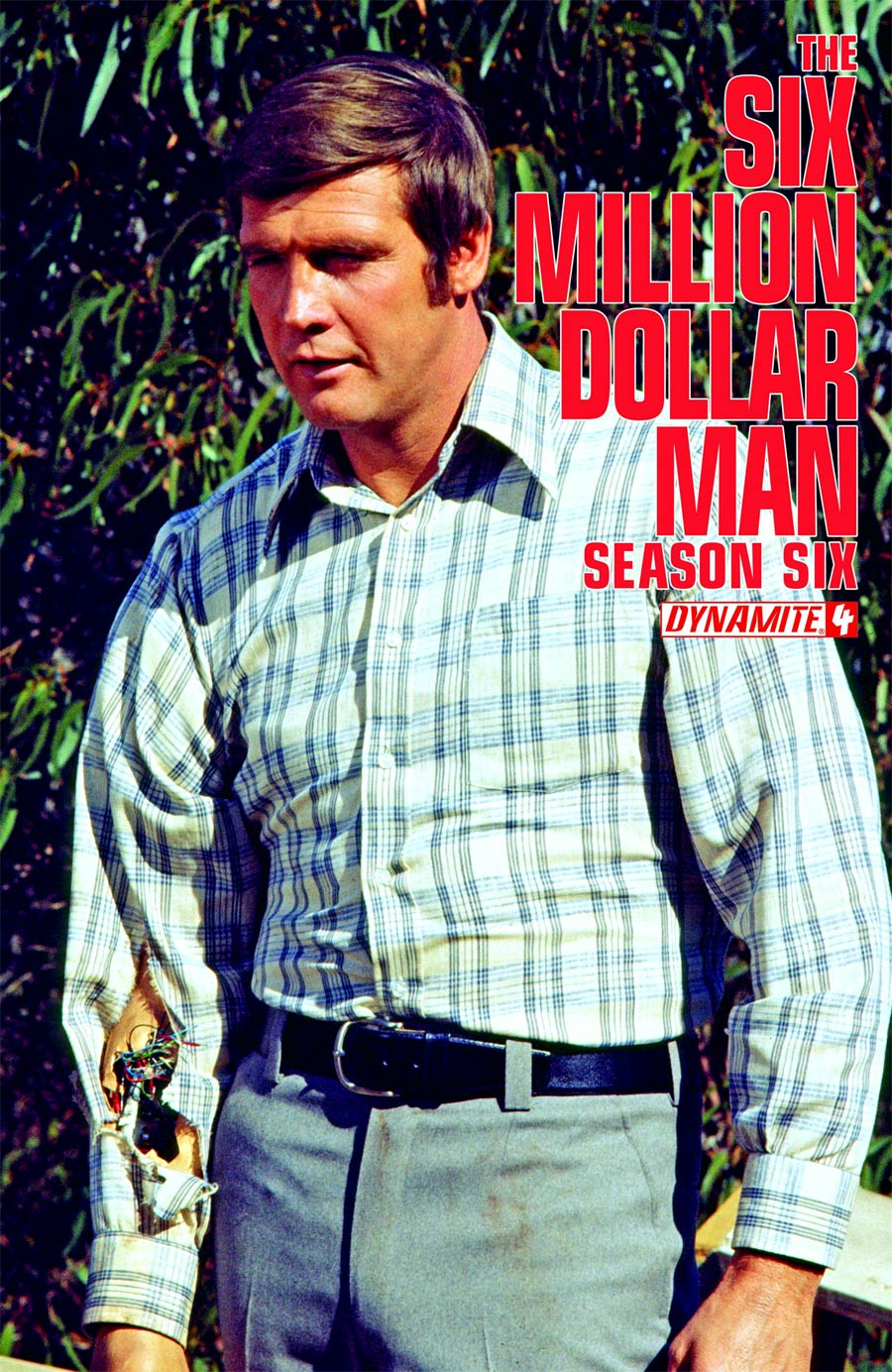 Six Million Dollar Man Season 6 #4 Cover C Variant Photo Subscription Cover