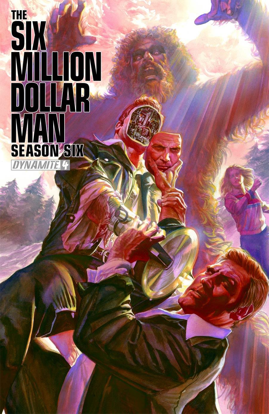 Six Million Dollar Man Season 6 #4 Cover A Regular Alex Ross Cover