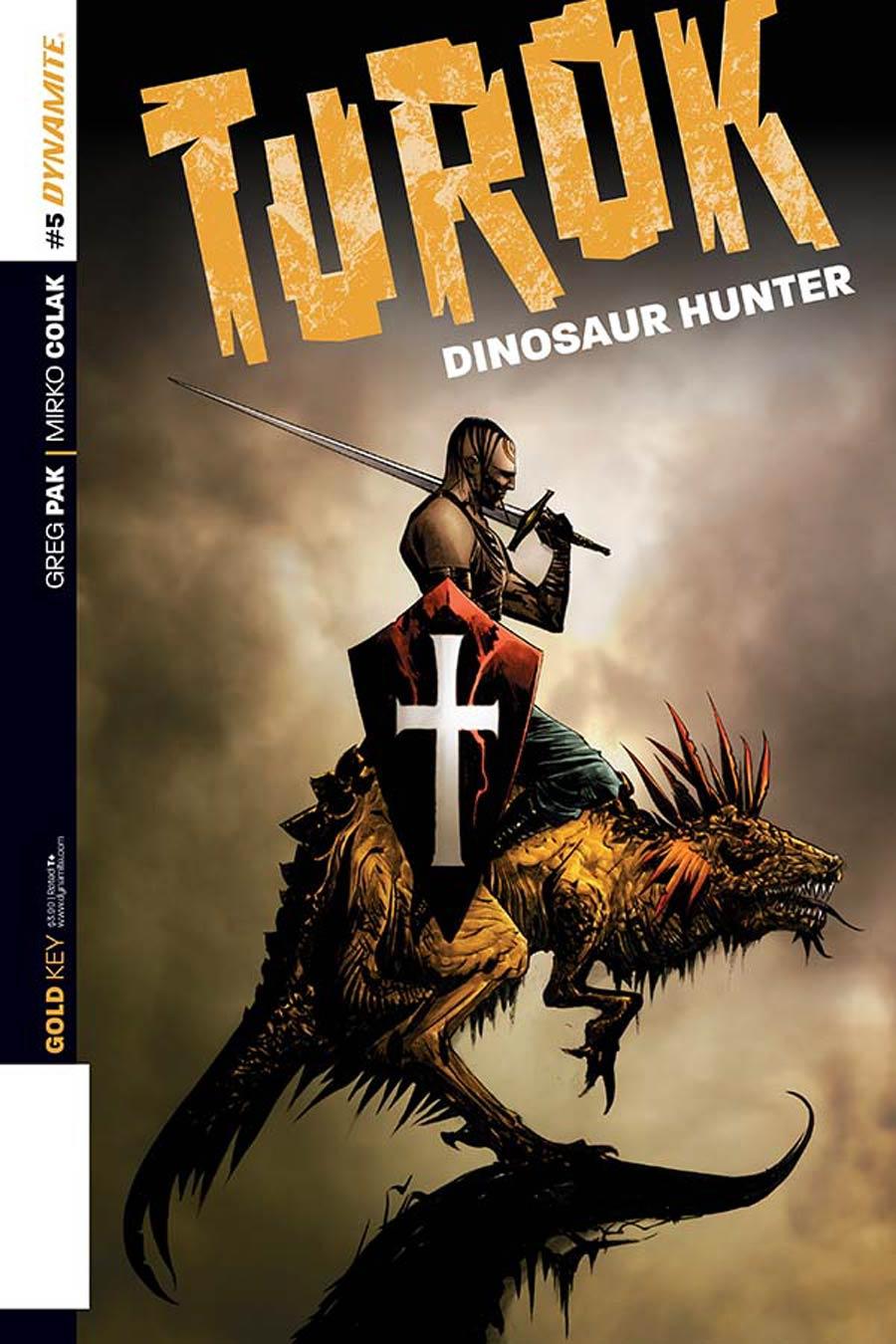 Turok Dinosaur Hunter Vol 2 #5 Cover B Variant Jae Lee Subscription Cover
